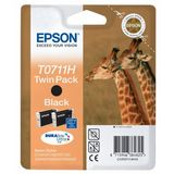 Cartus Epson TWIN PACK BLACK C13T07114H10 2X11,1ML ORIGINAL , STYLUS D120