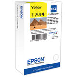 Cartus Epson YELLOW C13T70144010 3,4K 34ML ORIGINAL , WORKFORCE PRO 4000