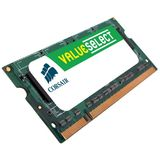 Memorie Laptop Corsair ValueSelect, 2GB, DDR2, 800MHz, CL5, 1.8v