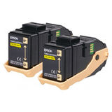 Toner Epson TWIN PACK YELLOW C13S050606 2X7,5K ORIGINAL , ACULASER C9300N