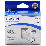 Cartus EPSON T5807 Light Black