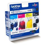 Cartus Brother MULTIPACK CMYK LC980VALBP ORIGINAL , DCP-145C