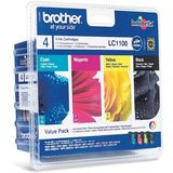 Cartus Brother MULTIPACK CMYK LC1100HYVALBP ORIGINAL , MFC-6490CW