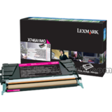 Toner RETURN MAGENTA X746A1MG 7K ORIGINAL LEXMARK X746DE
