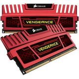 Vengeance Red 16GB DDR3 1600MHz CL10 Dual Channel Kit