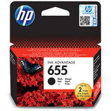 Cartus HP BLACK NR.655 CZ109AE 14ML ORIGINAL , DESKJET 3525 E-AIO