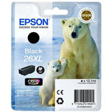 Cartus Epson BLACK NR.26XL C13T26214010 12,1ML ORIGINAL , XP-600
