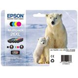 Cartus Epson MULTIPACK CMYK NR.26XL C13T26364010 1X12,2ML, 3X9,7ML ORIGINAL , XP-600