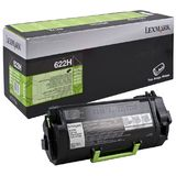 Toner RETURN NR.622H 62D2H00 25K ORIGINAL LEXMARK MX710DE