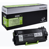 Toner Lexmark RETURN NR.522X 52D2X00 45K ORIGINAL , MS811N