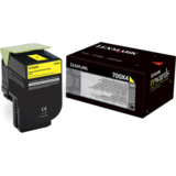 Toner Lexmark YELLOW NR.700X4 70C0X40 4K ORIGINAL , CS510DE