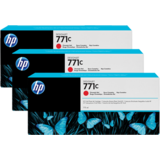 Cartus HP TRIPACK CHROMATIC RED NR.771C B6Y32A 3X775ML ORIGINAL , DESIGNJET Z6200