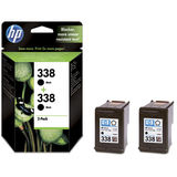 Cartus HP TWIN PACK BLACK VIVERA NR.338 CB331EE 11ML ORIGINAL , DESKJET 6540