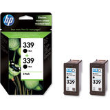 Cartus HP TWIN PACK BLACK NR.339 C9504EE ORIGINAL , DESKJET 6540