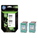 Cartus HP TWIN PACK COLOR NR.344 C9505EE ORIGINAL , DESKJET 6540