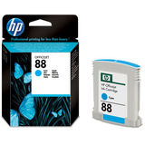 Cartus HP CYAN VIVERA NR.88 C9386AE 9ML ORIGINAL , OFFICEJET PRO K550