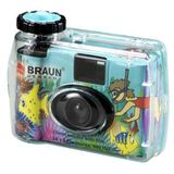 BRAUN Waterproof 35 mm Single Use Camera