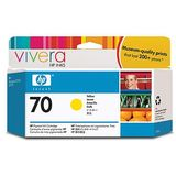 Cartus HP YELLOW VIVERA NR.70 C9454A 130ML ORIGINAL , DESIGNJET Z2100