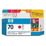 Cartus HP RED VIVERA NR.70 C9456A 130ML ORIGINAL , DESIGNJET Z2100