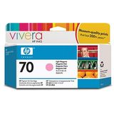 LIGHT MAGENTA VIVERA NR.70 C9455A 130ML ORIGINAL , DESIGNJET Z2100