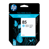 Cartus HP LIGHT CYAN VIVERA NR.85 C9428A 69ML ORIGINAL , DESIGNJET 30