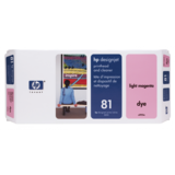 CAP IMPRIMARE si CLEANER LIGHT MAGENTA NR.81 C4955A ORIGINAL , DESIGNJET 5000