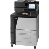 Multifunctionala HP LaserJet Enterprise flow M880z, laser, color, format A4, fax retea, duplex