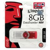 Memorie USB Kingston DataTraveler 101 G2 8GB rosu