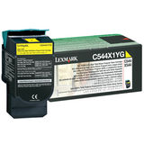 Toner Lexmark YELLOW RETURN C544X1YG 4K ORIGINAL , C544N