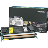 Toner Lexmark YELLOW RETURN C5220YS 3K ORIGINAL , C522N