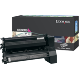 Toner Lexmark MAGENTA RETURN C7700MS 6K ORIGINAL , C770N