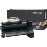 Toner YELLOW RETURN C7700YH 10K ORIGINAL LEXMARK C770N