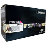 Toner Lexmark RETURN MAGENTA X792X1MG 20K ORIGINAL , X792DE