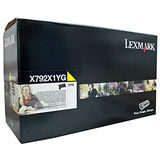 Toner Lexmark RETURN YELLOW X792X1YG 20K ORIGINAL , X792DE