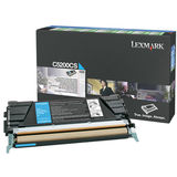 Toner CYAN RETURN C5200CS 1,5K ORIGINAL LEXMARK C530DN