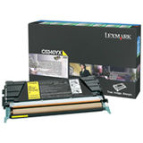 Toner Lexmark YELLOW RETURN C5340YX 7K ORIGINAL , C534N