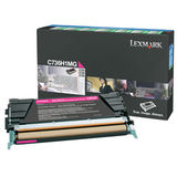 Toner Lexmark MAGENTA RETURN C736H1MG 10K ORIGINAL , C736N