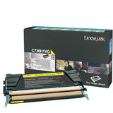 Toner YELLOW RETURN C736H1YG 10K ORIGINAL LEXMARK C736N