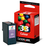 Cartus COLOR NR.33 HC 18CX033E ORIGINAL LEXMARK Z815