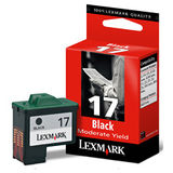 Cartus Lexmark BLACK NR.17 HC 10NX217E 7,4ML ORIGINAL , Z33