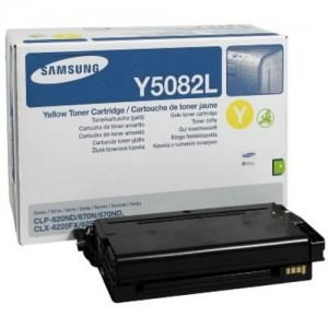 Toner Samsung YELLOW CLT-Y5082L 4K ORIGINAL , CLP-620ND