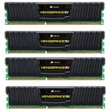 Vengeance LP Black 32GB DDR3 1600MHz CL10 Quad Channel Kit