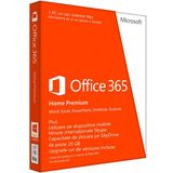 Office 365 Home, 32/64-bit, 1 an, 5 PC, engleza, Medialess