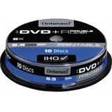 DVD+R 8.5GB 8x Dual Layer printabil cake box 10 buc
