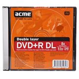 DVD+R 8.5GB Dual Layer 8x slim case 1 buc