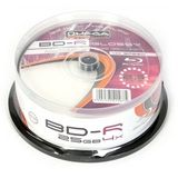 OMEGA OMEGA BD-R 25GB 4x Printable CAKE 25 Blue-ray Disc