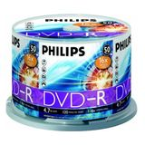 DVD-R 4.7GB (50 buc. Spindle, 16x) PHILIPS
