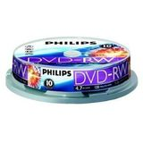 DVD-RW 4.7GB (10 buc. Spindle, 4x) PHILIPS