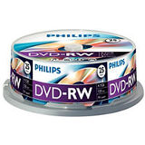 Philips DVD-RW 4.7GB (25 buc. Spindle, 4x) PHILIPS