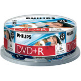 Philips DVD+R 4.7GB (25 buc. Spindle, 16x), printabil, PHILIPS